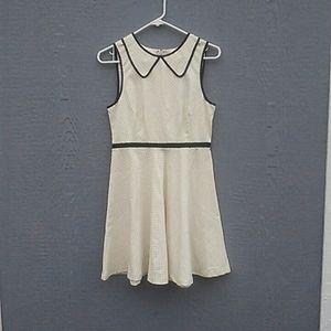 NWT Anthropologie | Cream dress size 4